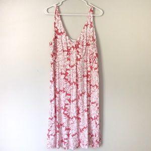 Tommy Bahama Floral Sleeveless Dress Large